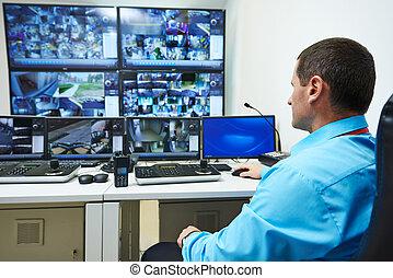Seguridad, vídeo, vigilancia