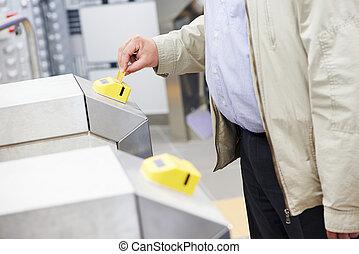 アクセス, 電子, キー, カード, システム