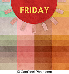 Earthy background with sun symbol and design element. Earthy...