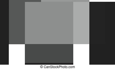 Gray scale - Animation of a gray squares