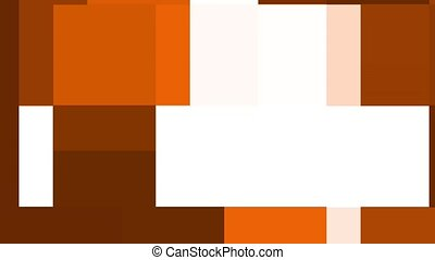 Brown tones - Abstract brown gradient in shapes