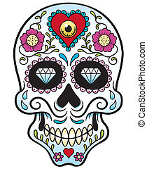 Skull - Vector illustration of Skull