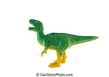 Tyrannosaurus, Rex, plástico, Dinosaurio