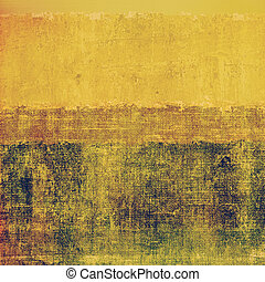 Årgång, bakgrund, mönster
