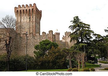 Este, 城, イタリア,  Veneto