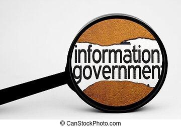 資訊, 搜尋, 政府