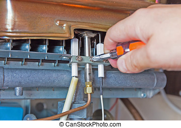 gas water heater - repair of the gas water heater