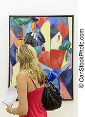 Paris, Centre Pompidou - PARIS, FRANCE, August 6, 2014: at...