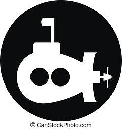 Submarino, botón