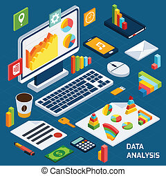 Isometric data analysis set - Isometric data analysis...