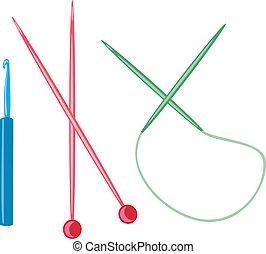 Knitting needles Clipa...