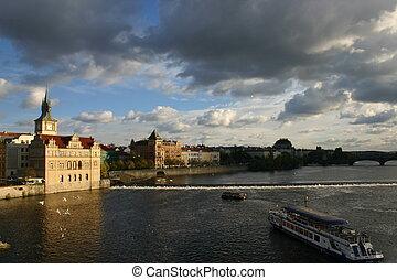 Riverside Prague Day