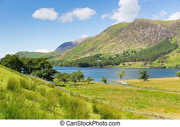 Mountains Buttermere Lake District - Buttermere English Lake...