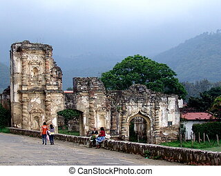 Local ruins - runis in Antigua Guatemala