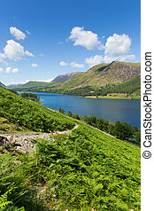 Lake District Buttermere English uk