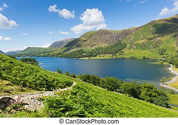 Buttermere Lake District Cumbria - Buttermere English Lake...