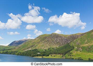 Buttermere Cumbria Lake District UK - Buttermere English...