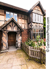 Birthplace of William Shakespeare, Stratford-upon-Avon,...