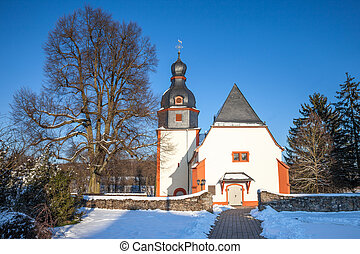 Village church in the Taunus - Village church in...