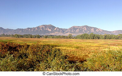 Flatirons Boulder Colorado