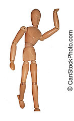 mannequin - wooden mannequin