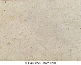Aged asian handmade paper texture with veins and fibers. Useful as background