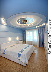 bedroom in hotel - Beautiful modern bedroom in hotel