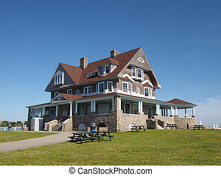 Historic House at Eastern Point Beach