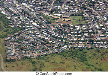 Planned residential community with sporting complex - an...