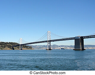 San Francisco Bay Bridge and Bay