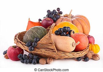 assortment of pumpkin