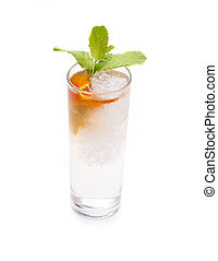 aromatic Gin and Tonic - one of the most famous cocktails in...