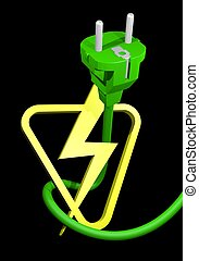 Power symbol - Creative design of power symbol