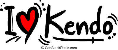 Kendo love - Creative design of kendo love