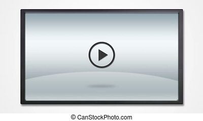 LCD display photography icon