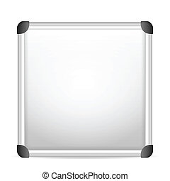whiteboard on a white background.