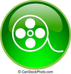 green video button