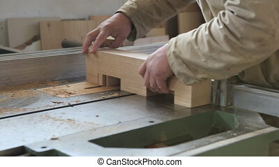 hands to work in carpentry
