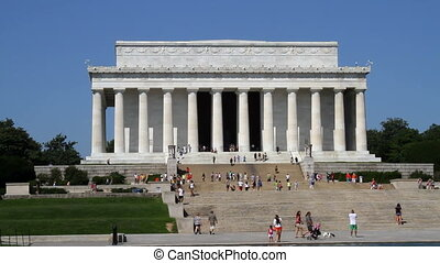Lincoln Memorial located in Washington, DC is a national...