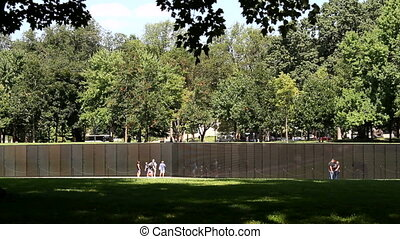 Vietnam War Memorial in Washington, DC, is a national...