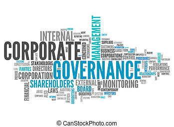 Word Cloud Corporate Governance - Word Cloud with Corporate...