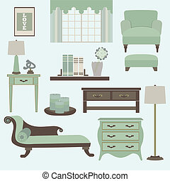 Living room furniture and accessory - Living room furniture...