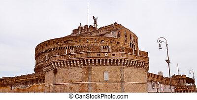Castel Sant'Angelo, Rome - The Castel Sant'Angelo Mausoleum...