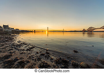 South Queensferry and the bridges - South Queensferry in...