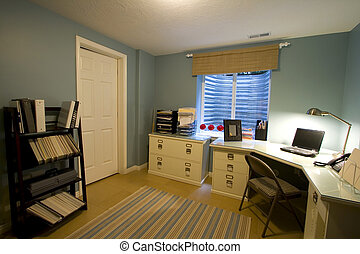 Home Office - Close up on a Home Office Room