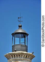 Lighthouse light room - Genoese old lighthouse Light room...