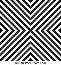 Tile vector black and white pattern or geometric seamless...