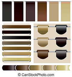 Set website the coffee color - Website the coffee ,Set of...