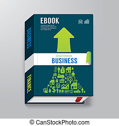 Cover Book business Design Template can be used for E-Book...
