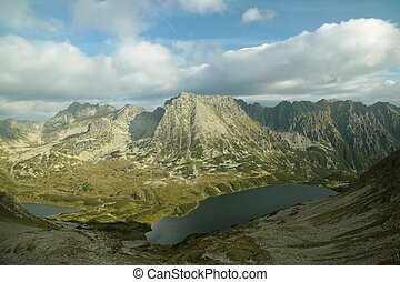 Tatra National Park, Poland - Valley of five ponds in the...